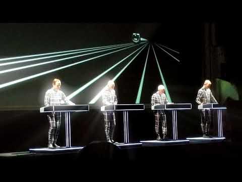 Kraftwerk live @ Helsinki 15th February 2018