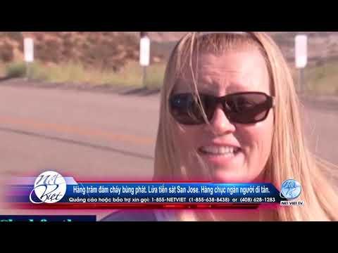 Hot News với Thanh Tùng _Show 86_ Aug 20 2020 Hàng trăm đám cháy bùng phát  Lửa tiến sát San Jose .