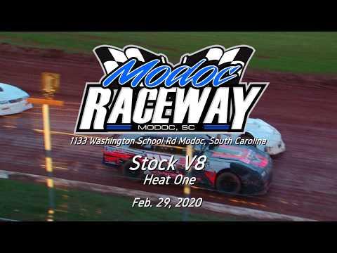 STOCK V8 @ Modoc Speedway Feb  29, 2020