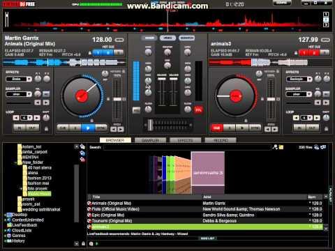 virtual dj-animals mix