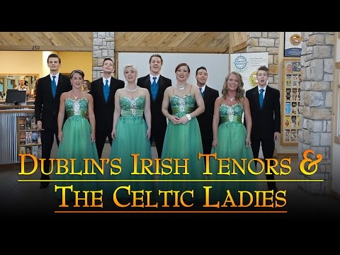 Dublin's Irish Tenors and The Celtic Ladies perform at Branson Tourism Center