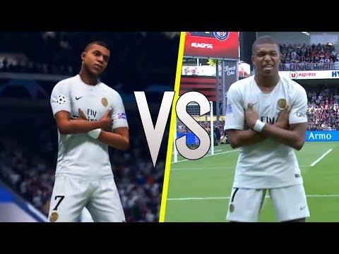 FIFA 19 vs Real Life - New Skills & Celebrations