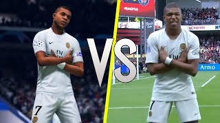 FIFA 19 vs Real Life - New Skills & Celebrations