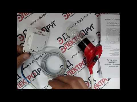 Терморегулятор с сенсорным управлением Terneo S. Обзор, подключение, проверка