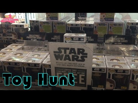 Toy Hunt: Star Wars Force Friday | Funko Pop Hunting | Action Figures | Toys R Us | Hot Topic