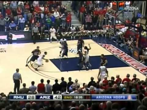 2010/2011 Arizona Basketball vs Robert Morris
