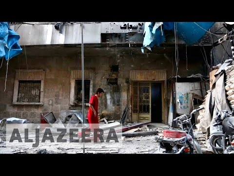 Aleppo hospitals destroyed as Syria humanitarian crisis worsens