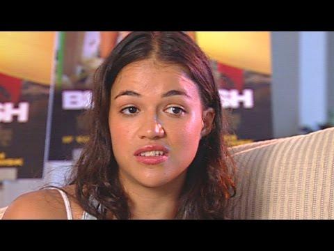 'Blue Crush' Michelle Rodriguez Interview
