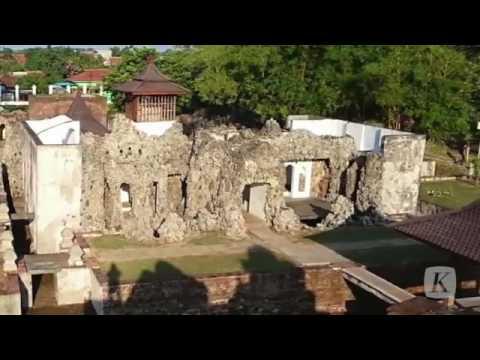 Visit Cirebon, Goa Sunyaragi wisata Cirebon yang menarik untuk di kunjungi