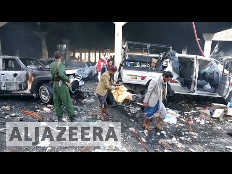 Arab coalition says it 'wrongly targeted' Yemen funeral