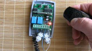 universal rolling fixed code receiver programming procedure with came remote controls