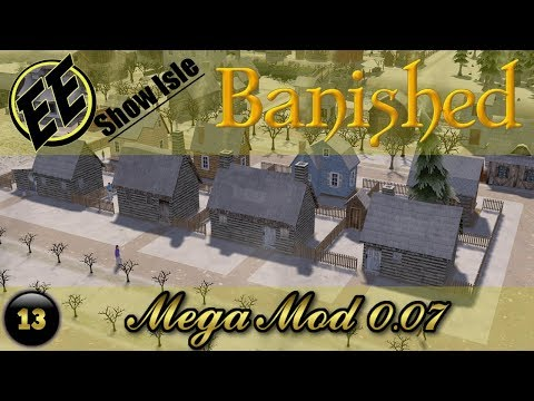 Banished MegaMod .07 #13 ~ Church & Cemetery