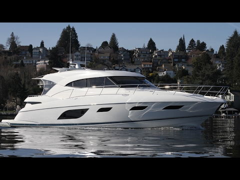 Riviera sport yacht 6000 hole shot.  Available in Seattle No