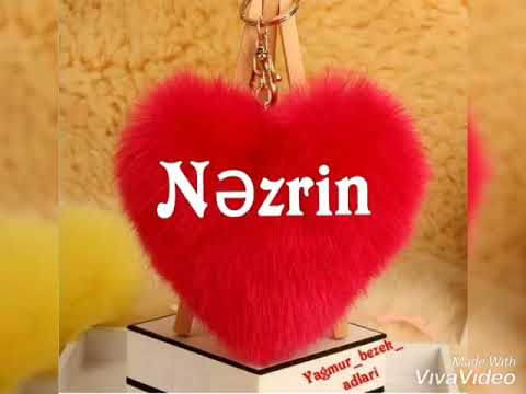 Ad günü təbriki - Nəzrin