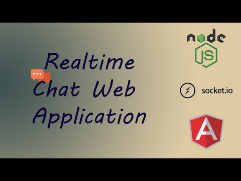 Create Real Time Chat Application Using Angular, Node.JS And Socket.IO