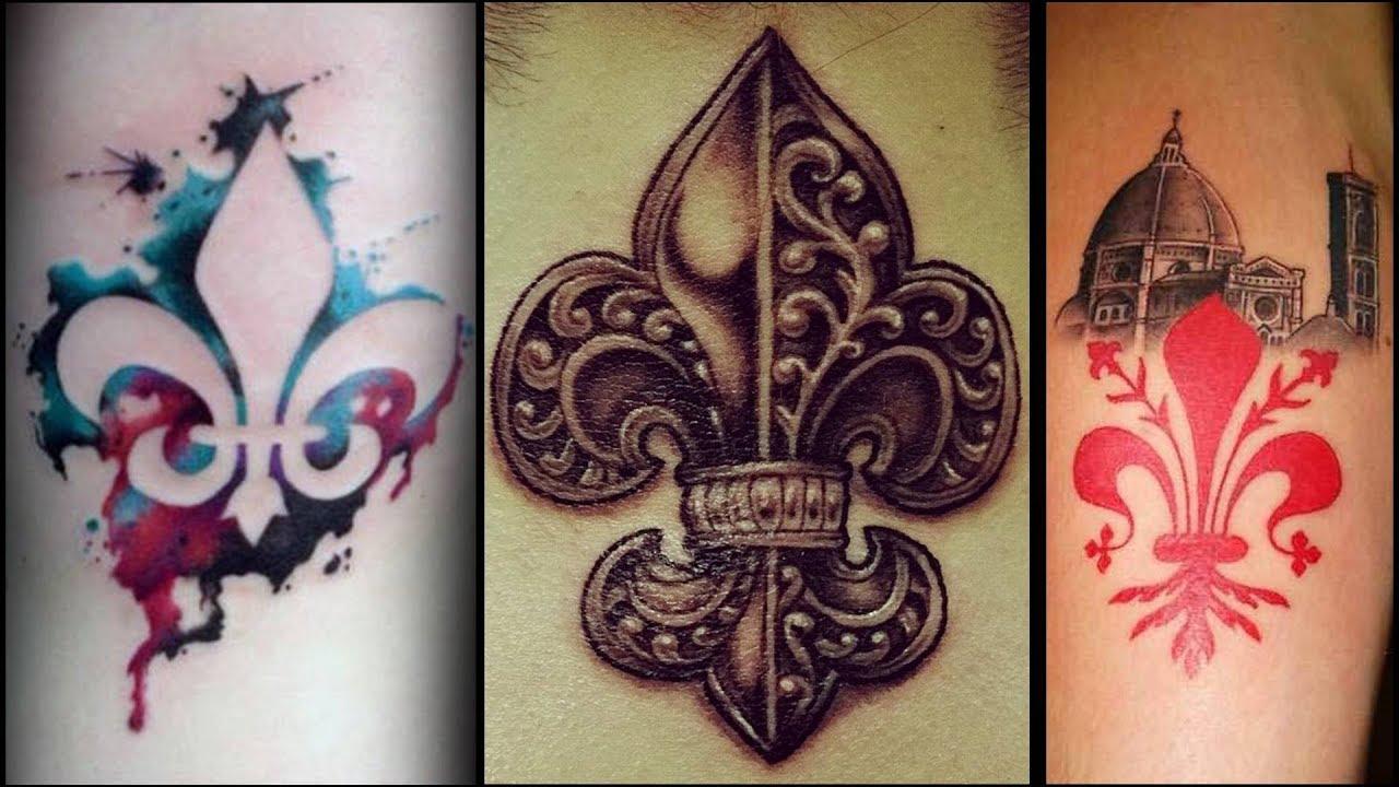 Flor De Lis Significado Y Los Mejores Diseños Y Tatuajes Youtube