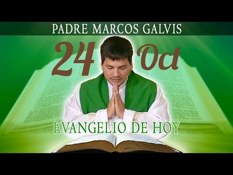 Evangelio de Hoy Miércoles 24 de Octubre de 2018 - Padre Marcos Galvis #EvangeliodeHoy