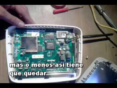 Modificacion 2wire antena externa youtube - Amplificador de antena ...