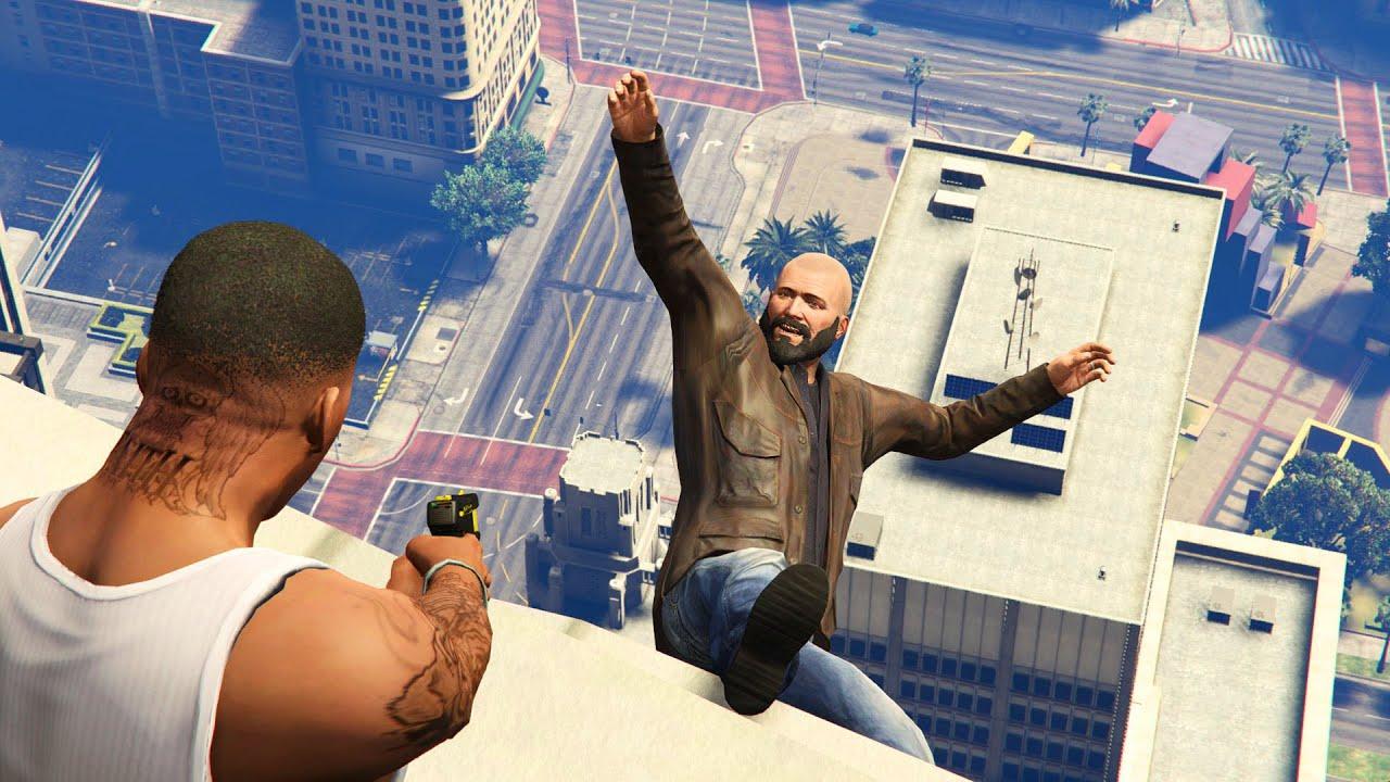 GTA 5 Brutal Kill Compilation (GTA V Michael Humorous Moments Fail Thug life)