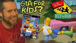 is the Simpsons Hit & Run GTA for Kids?