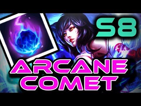 AHRI: ARCANE COMET | Season 8 RUNES + GUIDE | In-Game Gameplay! | Zoose