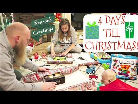 WRAPPING 25 CHRISTMAS GIFTS! *4 Days Left!*