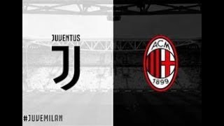Milan vs Juve Fifa 18 Ps4