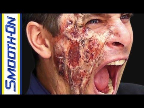 Burned Face Halloween Makeup Tutorial Youtube