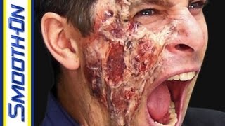Special Effects Makeup Tutorial: Burn Wounds
