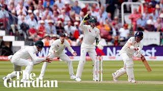 Game on: Burns and Lyon reflect on day two of second Ashes test