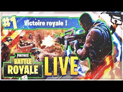 🔴 [FR] LIVE FORTNITE BATTLE ROYAL ON S'ENTRAÎNE EN SOLO ! #TOP 1 (SI DIEU LE VEUT)