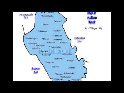 General knowledge about kollam district