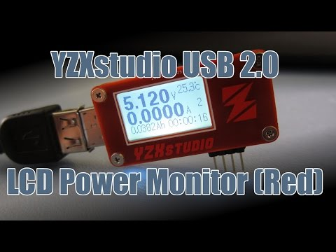 SDGEE #027 YZXstudio USB 2.0 LCD Power Monitor ZY1262