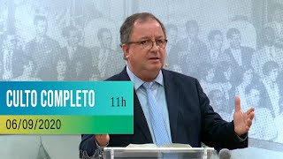 CULTO COMPLETO | 06-09-2020 | 11h