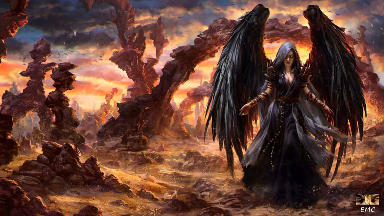 Sweet Little Girl Hd Wallpaper Gothic Storm Dark Angel Alex Tschallener Martin Haene
