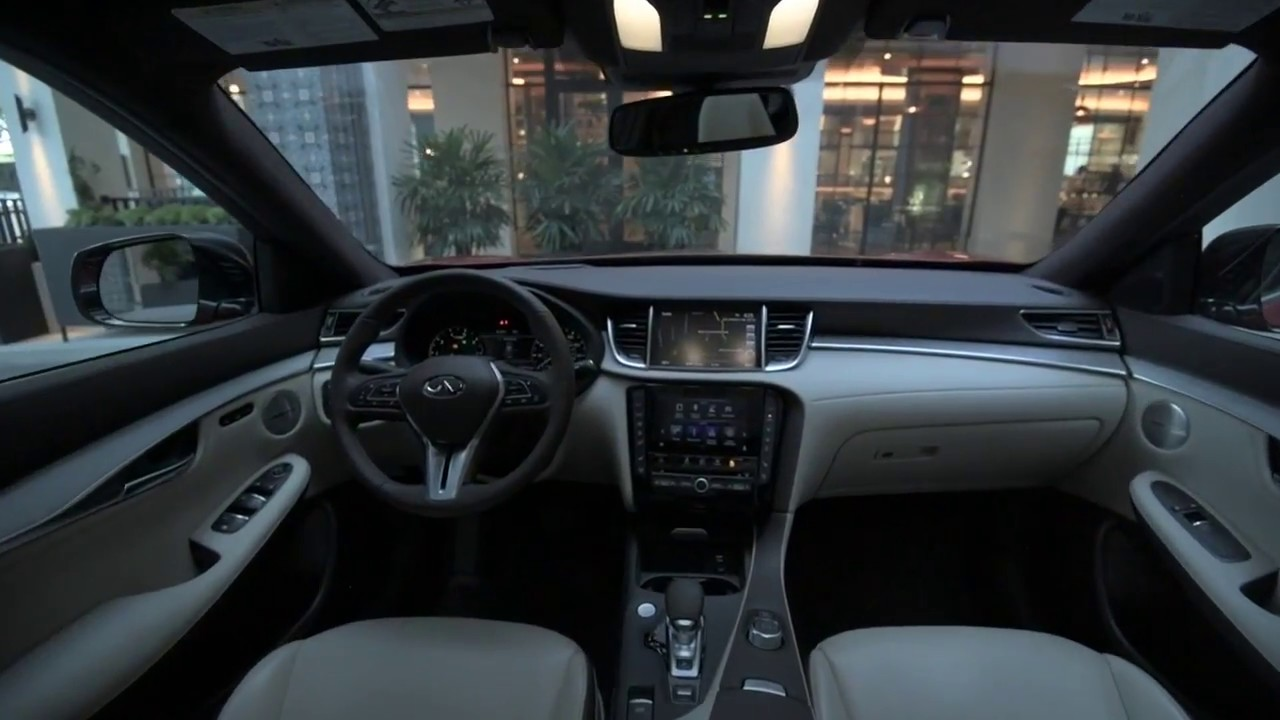 2019 Infiniti Qx50 Interior Design