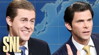 Weekend Update: Eric and Donald Trump Jr. on Benefiting from Trump's Presidency - SNL