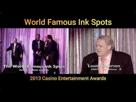 The World Famous Ink Spots - Casino Entertainment Awards Live Performance