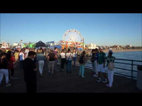 Santa Monica Pier Winter Tour