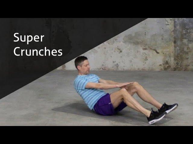 Super Crunches - hoe voer ik deze oefening goed uit?