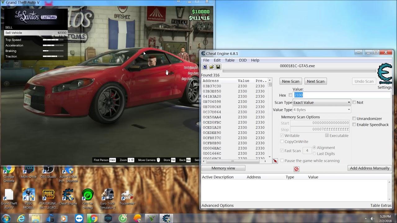 Cheat tiền và cấp GTA 5 online ko lo bị BAN | Grand Thef Auto 5