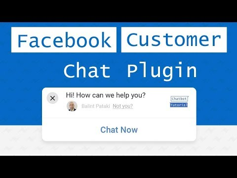 How To Embed FB Chat Bot Plugin For Website?