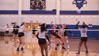 Volleyball Five Set Win vs Northwestern State 9.27.18