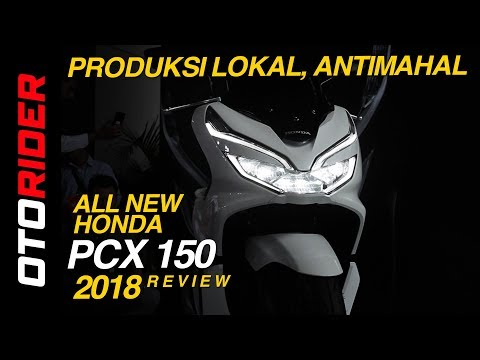 All New Honda PCX 150 Review Indonesia | OtoRider (English Subtitled)