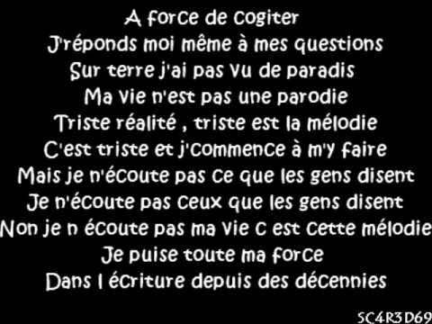 Dry Ft. Maître Gims - Ma mélodie ( Paroles )