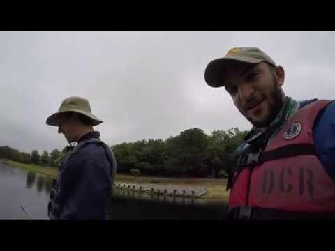 Bass fishing the Quabbin Reservoir!
