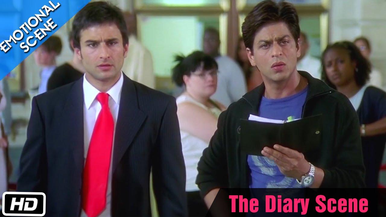 Download The Diary Scene - Emotional Scene - Kal Ho Naa Ho - Shahrukh Khan, Saif Ali Khan & Preity Zinta