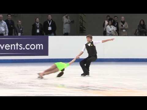 Greta and John Crafoord, Juvenile Pairs, 2014 US Figure Skating Championships, Boston, 2014-01-07