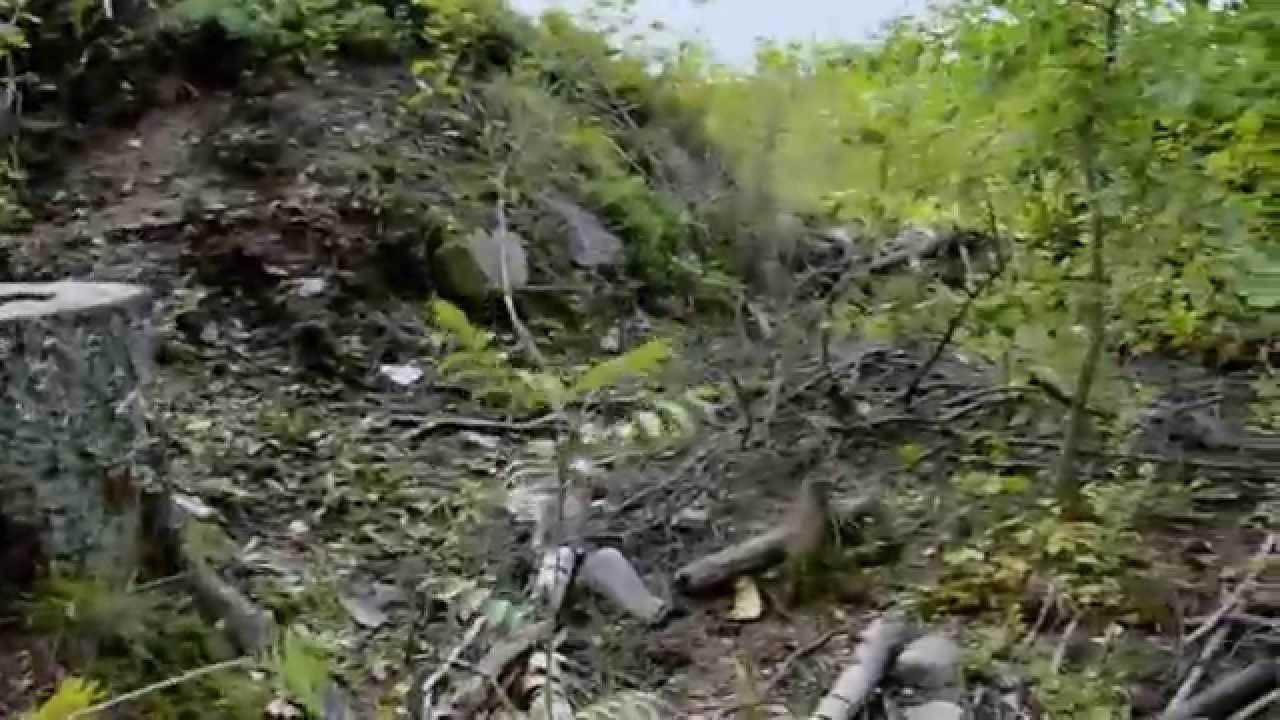 World War 1 Base XXXII:2 in a bad condition (Etelä-Laajalahti, Espoo, Finland) - YouTube