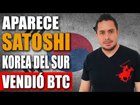 Satoshi Nakamoto Aparece |Korea del Sur afecto caída de #Bitcoin en Noviembre|